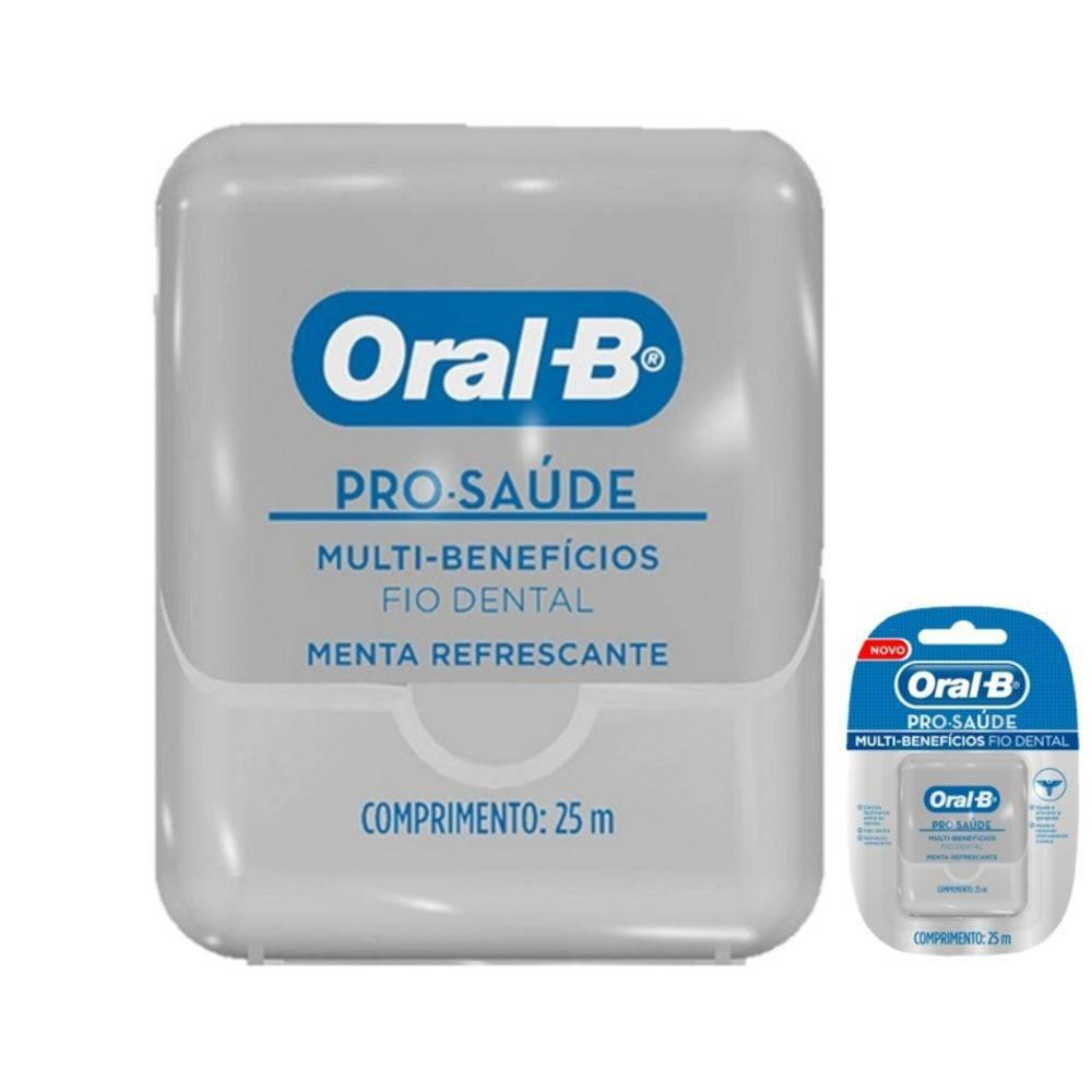 FIO DENTAL ORAL B PRO SAÚDE 25 M. - Farmacia Indiana 09e5c3d3ab05