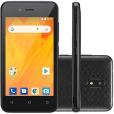 5df93823e Smartphone Multilaser 8g 5mp Android 8.1 Ms40g Preto - Nb728