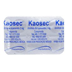 Kaosec-4-comprimidos