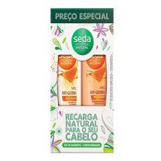 Shampoo-Condicionador-Seda-Mel-Antiquebra-Recarga-Natural-325ml