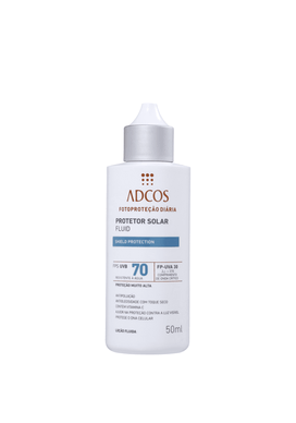 Protetor-Solar-Adcos-FPS70-Fluid-Shield-Protection-Incolor-50ml