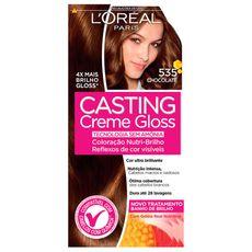 Tintura-Creme-L-oreal-Casting-Creme-Gloss-535-Chocolate