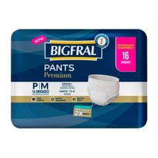 Fralda-Geriatrica-Bigfral-Roupa-Intima-Pants-Premium-P-M-16-Unidades