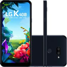 Smartphone-LG-K40s-32GB-Dual-Chip-Android-9-Tela-6.5-Octa-Core-2.0GHz-4G-Camera-13-5MP-Preto