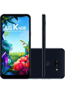 Smartphone-LG-K40s-32GB-Dual-Chip-Android-9-Tela-6.5-Octa-Core-2.0GHz-4G-Camera-13-5MP-Preto
