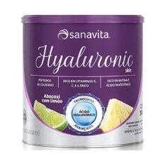 Hyaluronic-Skin-Sanavita-300g-Abacaxi-com-Limao