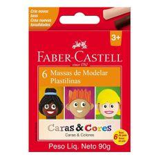 Massa-de-Modelar-Faber-Castell-Caras---Cores-6-Cores