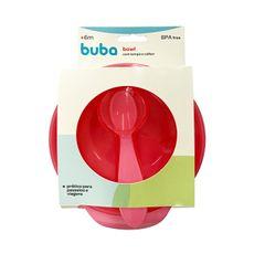 kit-prato-bowl-com-tampa-e-colher-300ml-rosa-buba