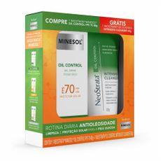 Neostrata Minesol 40g FPS70 Oil Control+Grátis Neostrata Intensive Cleanser 60g