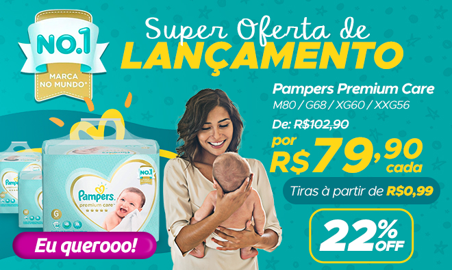 Pampers premium care new
